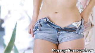 Lustful Judy Jolie drilled after oily Nuru massage