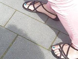 Maina blue teen Nice blue teen feet