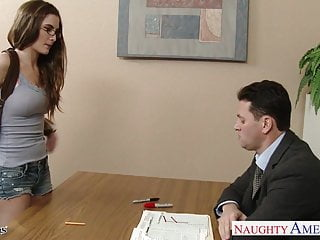 Jane birkin sexy Sexy coed in glasses molly jane fuck in classroom