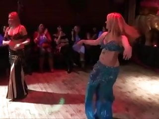 Sexy girl belly Sexy belly dancers dance to barbie girl