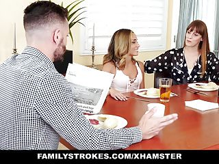 Hardcore uncle free fem xxx Familystrokes - flashing her pussy for pervy uncle