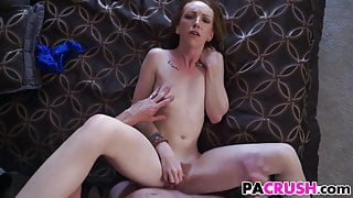 Sexy Ass Stepdaughter Gets Punished
