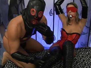 Bisexual leather sex video Extrem latex-leather sex