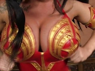 Kerri hoskins boobs - Kerry louise cosplays as wonderwoman and wonders who to fuck