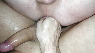 Extreme Fist Pee and Ballfuck Fun with Daddy