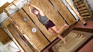 Leilani Gets Ties Up and Shoes Stolen