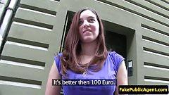 Redhead euro giving povblowjob before fucking