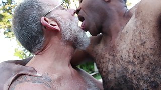 Black, 62, sucks another daddy's cock - GBMbjDMCOv01