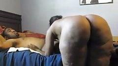 Black Milf  Fucks Young Stud