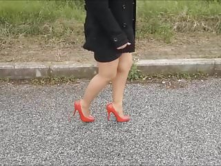 Highest rpm vibrator Highest heels medley