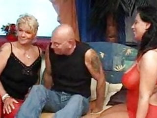 A good old fashioned orgy - Nothing like a good old mature german threesome