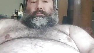 Big cock daddy bear cum