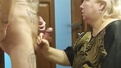 another Blowjob from the mother-in-law before lunch