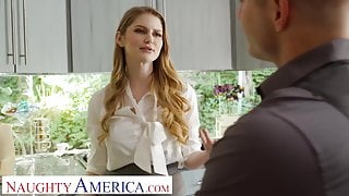 Naughty America Real Estate agent Bunny Colby fucks to close