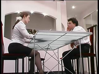 Milf seduces guy Mature seduces guy in interview