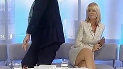 Christine Talbot Showing Off Her Legs