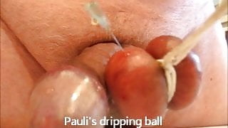 Dripping balls