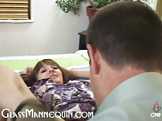 Tiny whore fucks 3 huge cocks - Tiny brunette teen sucks and fucks old mans huge white cock