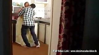 Indian desi bhabhi with devar in kitchen softcore porn
