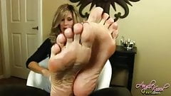 Angel Kissed Feet Giant Sexiest Soles JOI