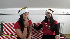PREGNANT STEPDAUGHTER TAKES OUT COMPETITION CHRISTMAS 1 of 2