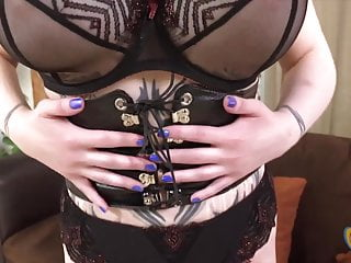 Gothic busty Busty goth larkin love does tugjob