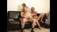 Lonely Russian mom prefers young stud and mare bareback 27