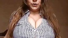 Funny bra busting