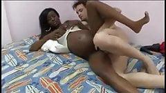 Pregnant Black Girls With White Boys 12!