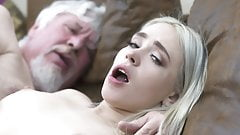 College student has sex with an ugly old fuck super hard