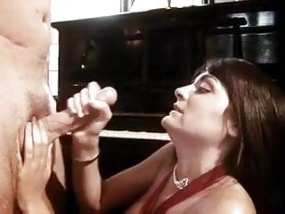 Huge facial - Huge facial after intense handjob