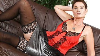 Sultry Hot Stepmom In Lingerie Fucked By Stepson