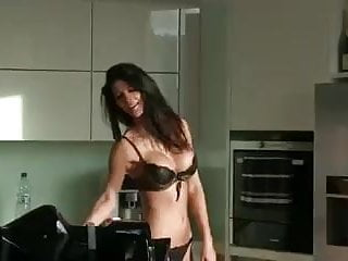 Clean nude models Model house cleaning