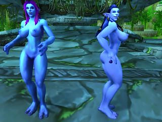 Wow troll naked Warcraft troll girls
