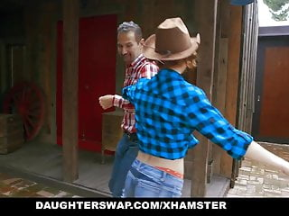 Japan fat asses - Daughterswap - horny cowgirls get their fat asses felt up