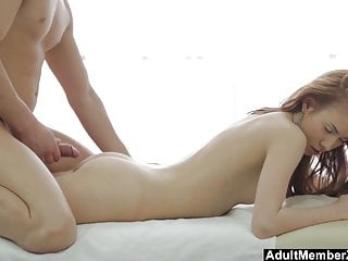 Big cock cock info picture remember - This pretty redhead will remember her deep massage