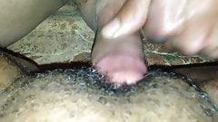 Black clit rub