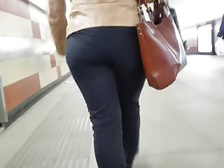 Condom and thin Fatty and thin ass