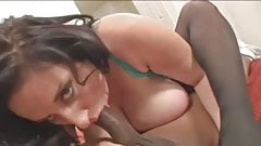 Brunette BBW-Milf Interracial 2