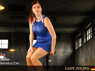 Rubber orgasm Rubber latex mistress lady julina demands orgasm control