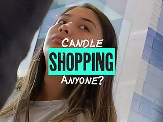 Candles in his ass - Candle shopping anyone