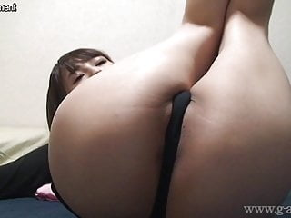 Open g solo licks - Japanese girl umi hinata bites g-strings and wide open legs