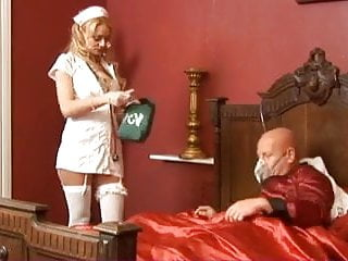Poorly differentiated breast carcinoma British blonde slut gets fucked looking after a poorly man