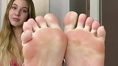 Solo mary grace xmas feet and soles