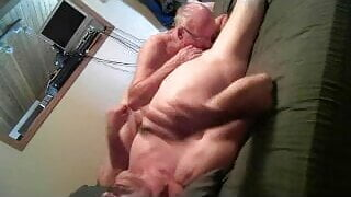 2 Grampas Blowing Each Other!