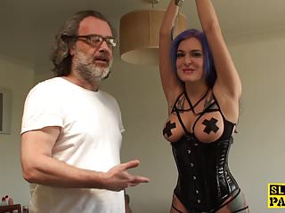Masturbation as punishment Euro bdsm sub analfucked as punishment