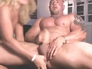 Husband humiliation strapon fuck Wife fucks the cum out of husband with dildo