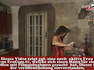 Hat roleplaying milfs - German roleplay - milf amateur wife must do cum in mouth