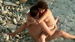 Sex on the beach. Joyful sex.avi