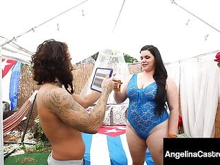 Adult vacation with copanion Cock sucking cuban vacation with latina bbw angelina castro